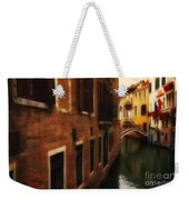 The Quiet Canal Weekender Tote Bag