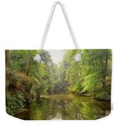 The Quiet River Weekender Tote Bag
