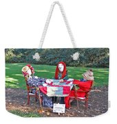 The Quilting Bee Scarecrows Weekender Tote Bag