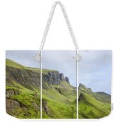 The Quiraing Triptych Weekender Tote Bag