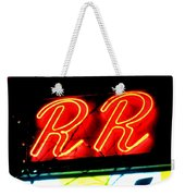 The R And R Weekender Tote Bag