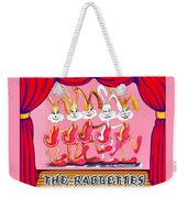 The Rabbettes Weekender Tote Bag