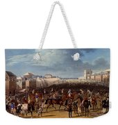 The Race Over, Print Made By Charles Weekender Tote Bag