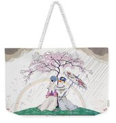 The Rainbow Weekender Tote Bag by Georges Barbier