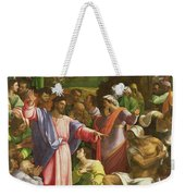 The Raising Of Lazarus, C.1517-19 Oil On Canvas Transferred From Wood Weekender Tote Bag