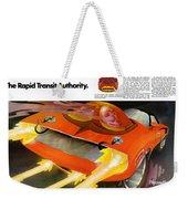 The Rapid Transit Authority Weekender Tote Bag