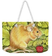 The Raspberry Mouse Weekender Tote Bag