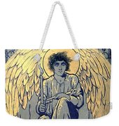 The Raven By Edgar Allan Poe Book Cover Weekender Tote Bag
