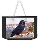 The Raven Weekender Tote Bag by Rona Black
