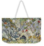 The Ravine Of The Peyroulets Weekender Tote Bag by Vincent van Gogh