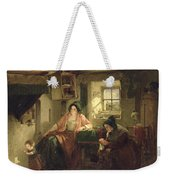The Ray Of Sunlight, 1857 Oil On Canvas Weekender Tote Bag