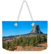 The Realm Of Devils Tower Weekender Tote Bag