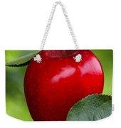 The Red Apple Weekender Tote Bag