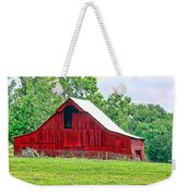 The Red Barn - Featured In Old Buildings And Ruins Group Weekender Tote Bag