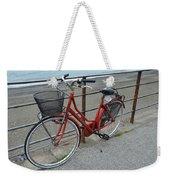 The Red Bicycle Weekender Tote Bag