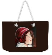Red Cloche Weekender Tote Bag