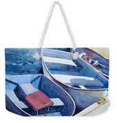The Red Cushion Weekender Tote Bag