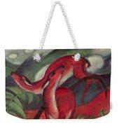 The Red Deer Weekender Tote Bag