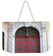 The Red Door Weekender Tote Bag
