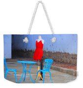 The Red Dress Lunch Special Weekender Tote Bag