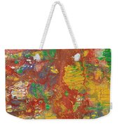 The Red Garden Path Weekender Tote Bag