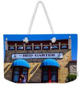 The Red Garter Weekender Tote Bag
