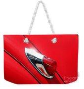 The Red Jag Weekender Tote Bag