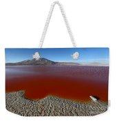 The Red Lagoon Weekender Tote Bag
