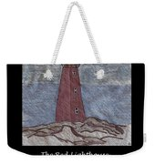 The Red Lighthouse Weekender Tote Bag