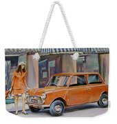 The Red Mini Weekender Tote Bag
