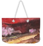 The Red Mountain Weekender Tote Bag