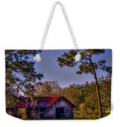 The Red Roof Barn Weekender Tote Bag by Marvin Spates
