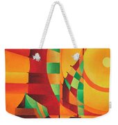 The Red Sea Weekender Tote Bag by Tracey Harrington-Simpson
