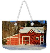 The Red Shed Weekender Tote Bag