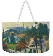 The Red Vine. Matinicus Island. Maine Weekender Tote Bag