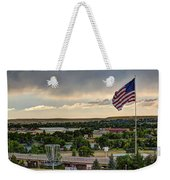 The Red White And Blue Weekender Tote Bag