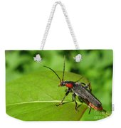 The Rednecked Bug- Close Up Weekender Tote Bag