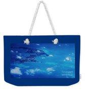 Bermuda Blue, Aerial Weekender Tote Bag