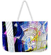 The Refracted Cobweb Weekender Tote Bag