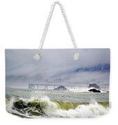 The Restless Sea Weekender Tote Bag