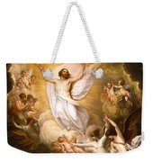 The Resurrection Weekender Tote Bag by Munir Alawi