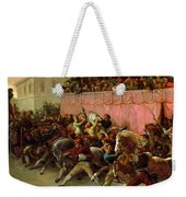 The Riderless Racers At Rome Weekender Tote Bag