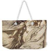 The Ring Upon Thy Hand - ..ah Weekender Tote Bag