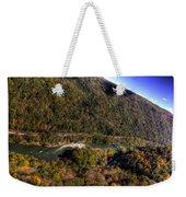 The River Below Weekender Tote Bag