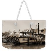 The River Lady Toms River New Jersey Weekender Tote Bag