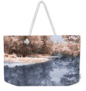 The River - Near Infrared Weekender Tote Bag