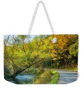 The River Road Curve Weekender Tote Bag