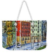 The Riverside Houses At Bilbao La Vieja Weekender Tote Bag