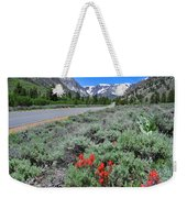 The Road Into Lundy Canyon Weekender Tote Bag