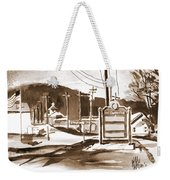 The Road To Farmington Pilot Knob Missouri Weekender Tote Bag